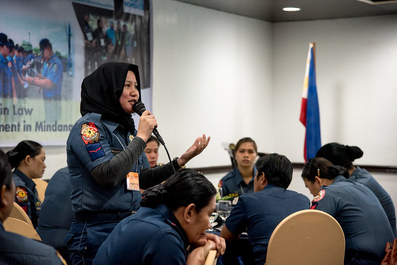 UN Women/ UNODC - Workshop on Women in Law Enforcement BARMM, Davao - the Philippines, 25 February 2020