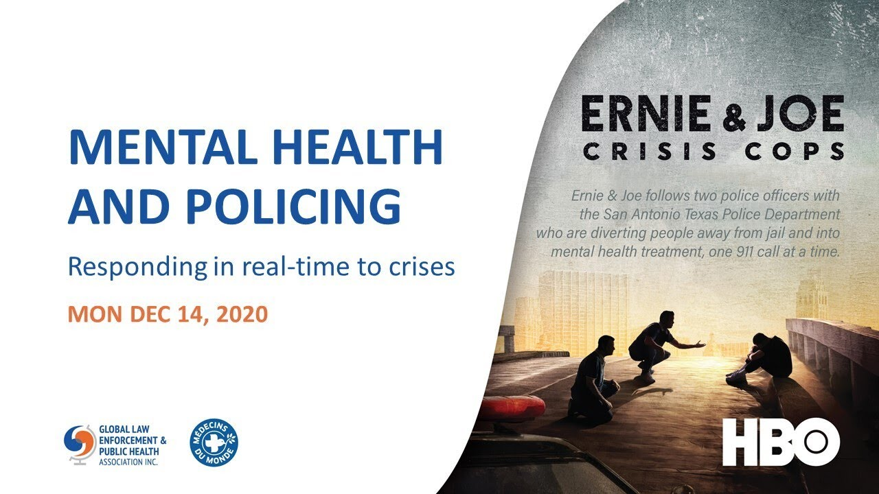 MENTAL HEALTH AND POLICING: Responding in real-time to crises