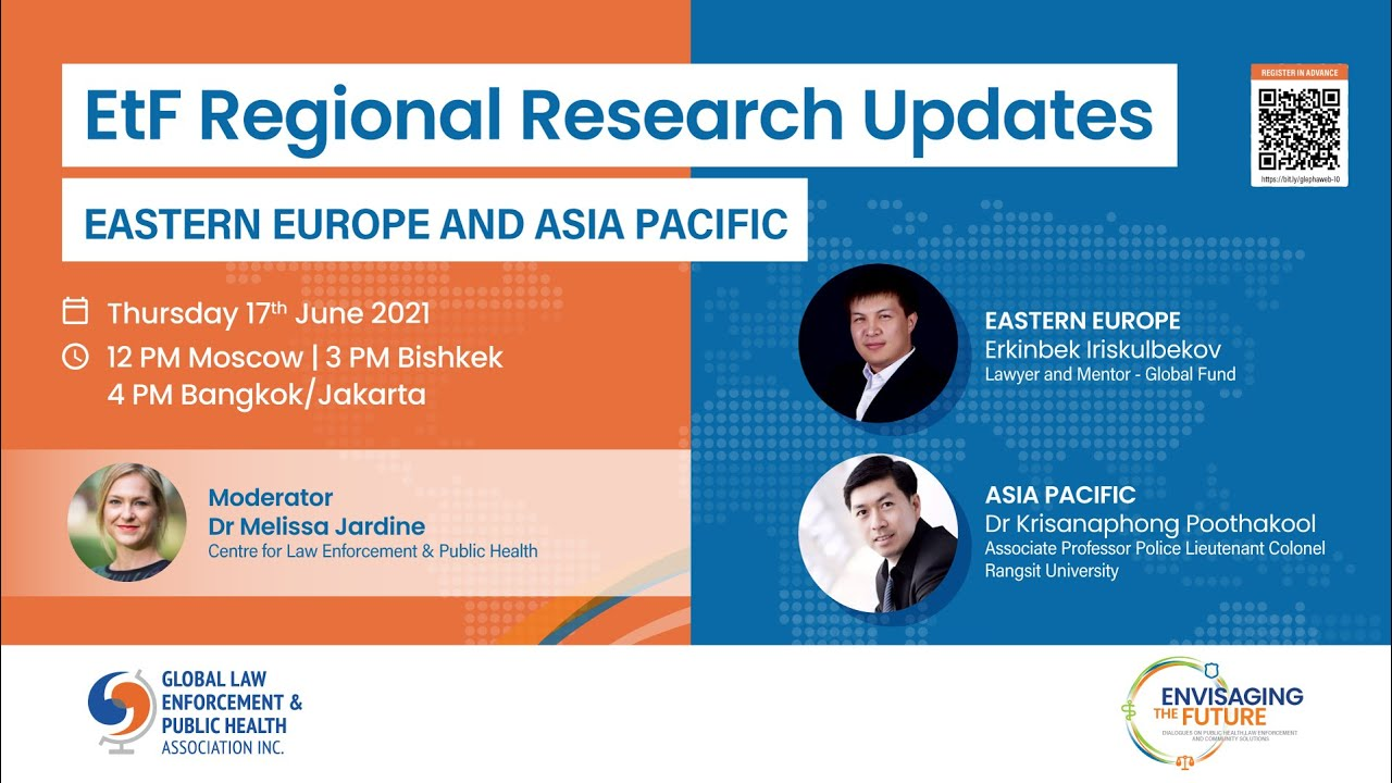 ETF REGIONAL RESEARCH UPDATES: WEBINAR 3– EASTERN EUROPE and ASIA PACIFIC